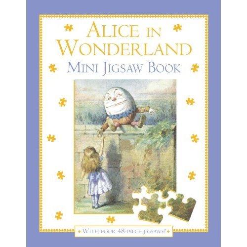 Alice in Wonderland Mini Jigsaw Book