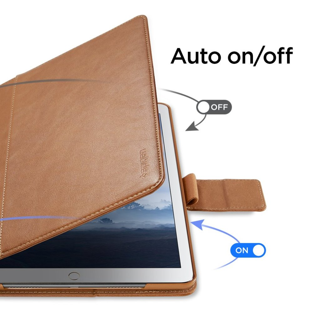new product 32810 0f5f5 Spigen Stand Folio Designed For Apple iPad Pro 10.5 Case - Brown