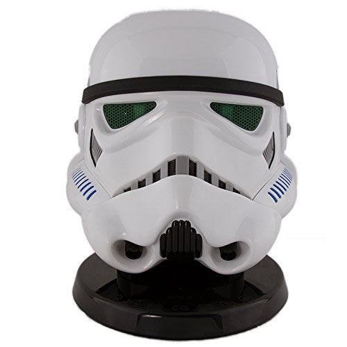 Star Wars Stormtrooper Bluetooth Speaker  White - Officially Licensed