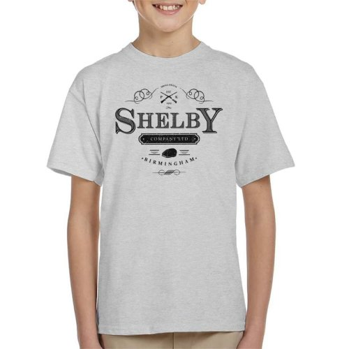 Shelby Company Ltd Logo Peaky Blinders Kid's T-Shirt