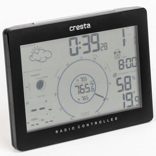 Cresta Weather Station DTX320 Black 70314.01