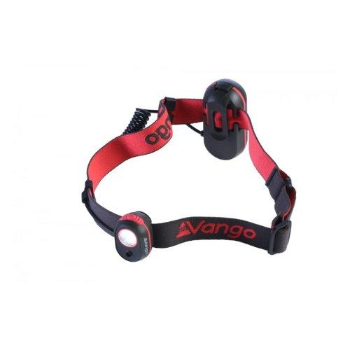 Vango Flux Headtorch 120 Lumens - Grey/Red