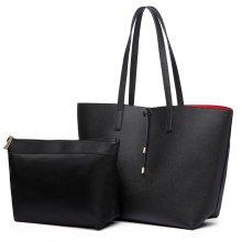 Buy 1 Get 1 at 20% Off Miss Lulu Reversible Shoulder Handbag Tote Bag