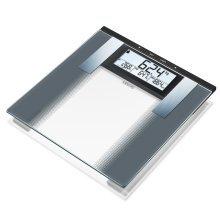 Sanitas Body Analysis Scales Glass 180 kg White and Black SBG 21