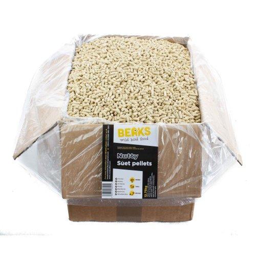 BEAKS Nutty suet feed pellets for wild birds 12.75kg