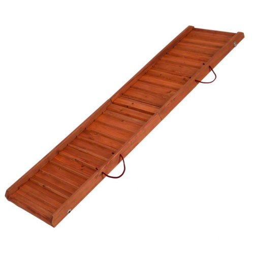 Car Dog Ramp Wood Protect Bones and Joints