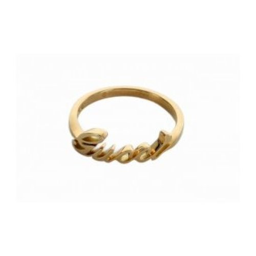 GUCCI RING GUCCI 18KT YELLOW GOLD size 16 201955 J8500 8000