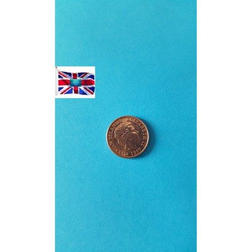 "Cayman Islands 1999 ""1 Cent - Elizabeth II 4th portrait"