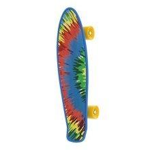 Bored Cruiser Neon X Skateboard - Tie Dye