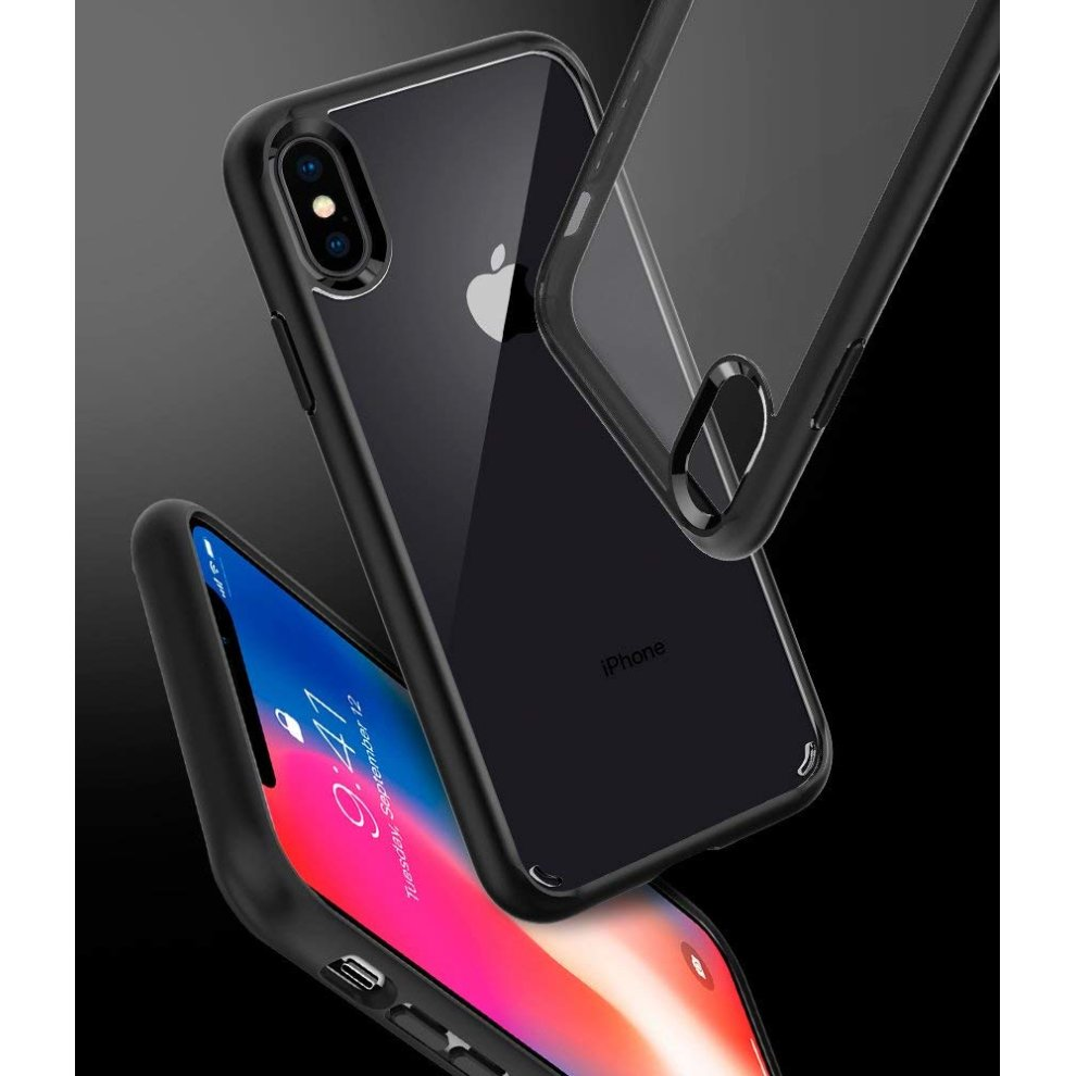 more photos e99da 5041a Spigen [Ultra Hybrid] iPhone XS Case, iPhone X Air Cushion Technology