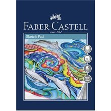 Faber-castell Creative Studio Sketch Pad, A3 100 Gsm Pad Of 50 Sheets -  pad fabercastell creative studio sketch a3 100 gsm 50 sheets