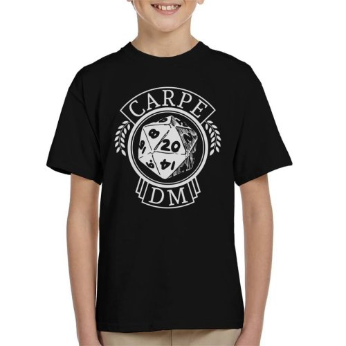 Carpe DM Dungeons And Dragons Kid's T-Shirt