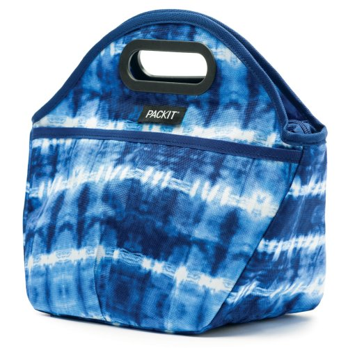 Packit Tie Dye Traveler Lunch Bag Freezable - multicoloured, One Size