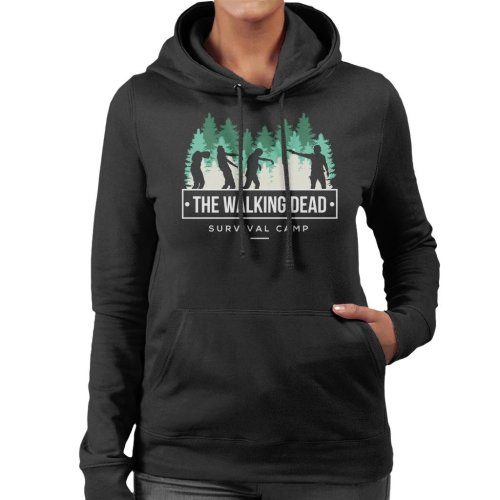 Survival Camp The Walking Dead Women's Hooded Sweatshirt