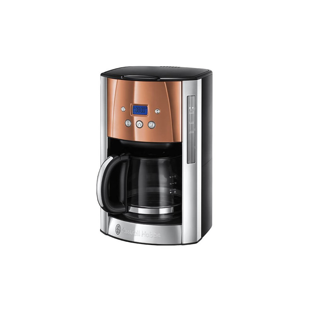 Russell Hobbs Luna Stainless Steel Copper Filter Coffee Maker