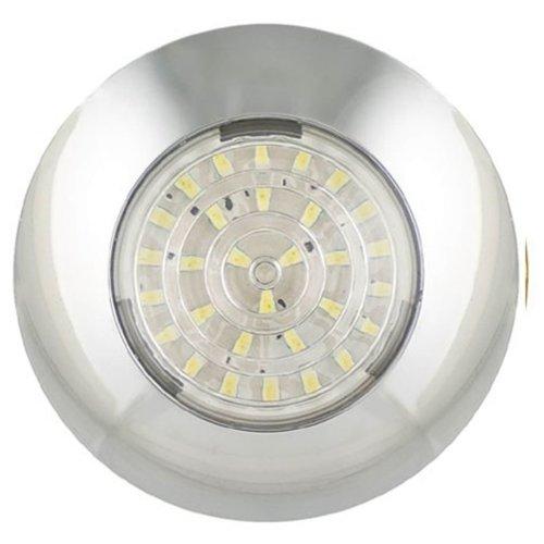 LED Autolamps LED Interior Lamp 7.5 cm Chrome 7524C