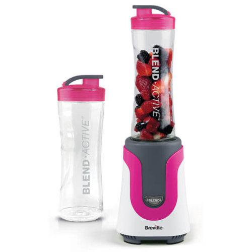Breville VBL134 Blend Active Personal Blender, 300 W, 50Hz - Pink