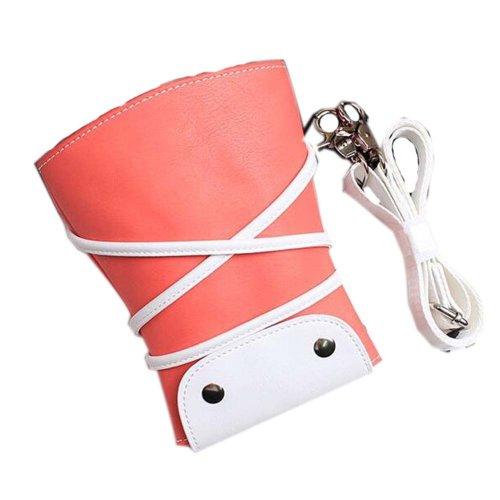 Hair Scissors Cosmetic Bag Hair Beauty Tools Package Hair Stylist Pockets,Orange