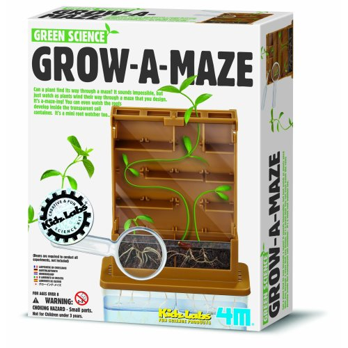Great Gizmos Science Grow-A-Maze (Green)