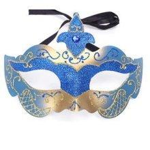 Halloween Mask Masquerade Costume Children Toy Kids Mask Handmade (18x12 cm)