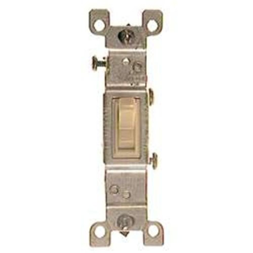 Leviton Ivory Residential Grade AC Quiet Switches Toggle 203-1451-2I