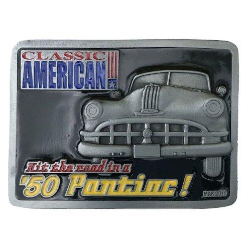 50's PONTIAC Officially Licensed Belt Buckle