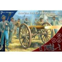 Perry Miniatures 28mm Plastic American Civil War Artillery 1861-65