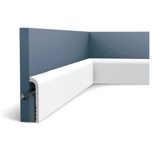 Orac Decor SX185 LUXXUS CASCADE Cover Skirting decorative moulding baseboard 2 m