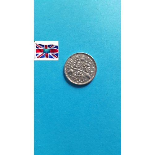 Great Britain 3 Pence - George V 3rd issue; incl. Maundy