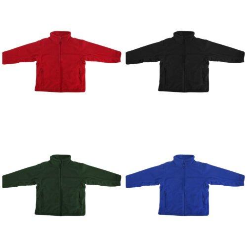 Jerzees Schoolgear Childrens Full Zip Outdoor Fleece Jacket
