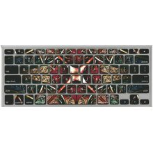 Magic Flower Keyboard Stickers / Decals For MacBook (Pro 13 Inch Retina)