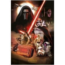 Star Wars Episode 7 Montage Maxi Poster