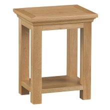 Stirling Oak Side Table