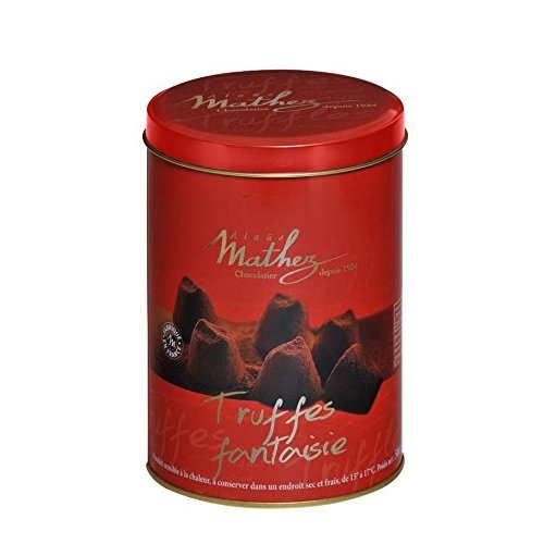 Chocolat Mathez Fine French Cocao Powdered Chocolate Truffles Fantaisie (17.6OZ (500G))
