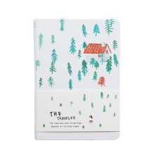 Creative Hand Book Simple Notepad Thicken Diary Notebook, Colored Page-1