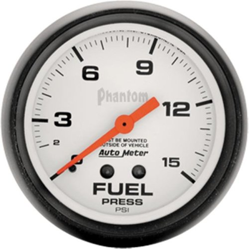 AUTO METER 5810 Phantom 2.62 In. Fuel Pressure