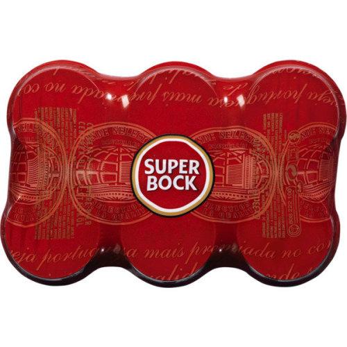 12 x Beer Super Bock Cans 33cl