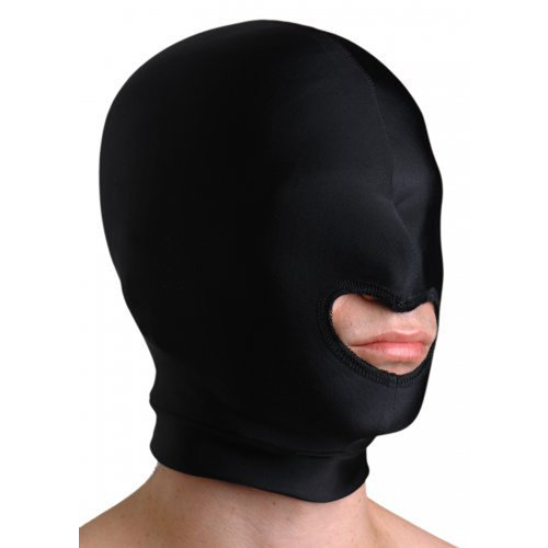 Premium Spandex Hood with Mouth Opening  BDSM Masks - Strict Leather