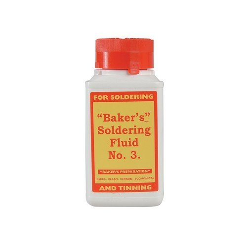 Bakers 61037 No.3 Soldering Fluid 125ml