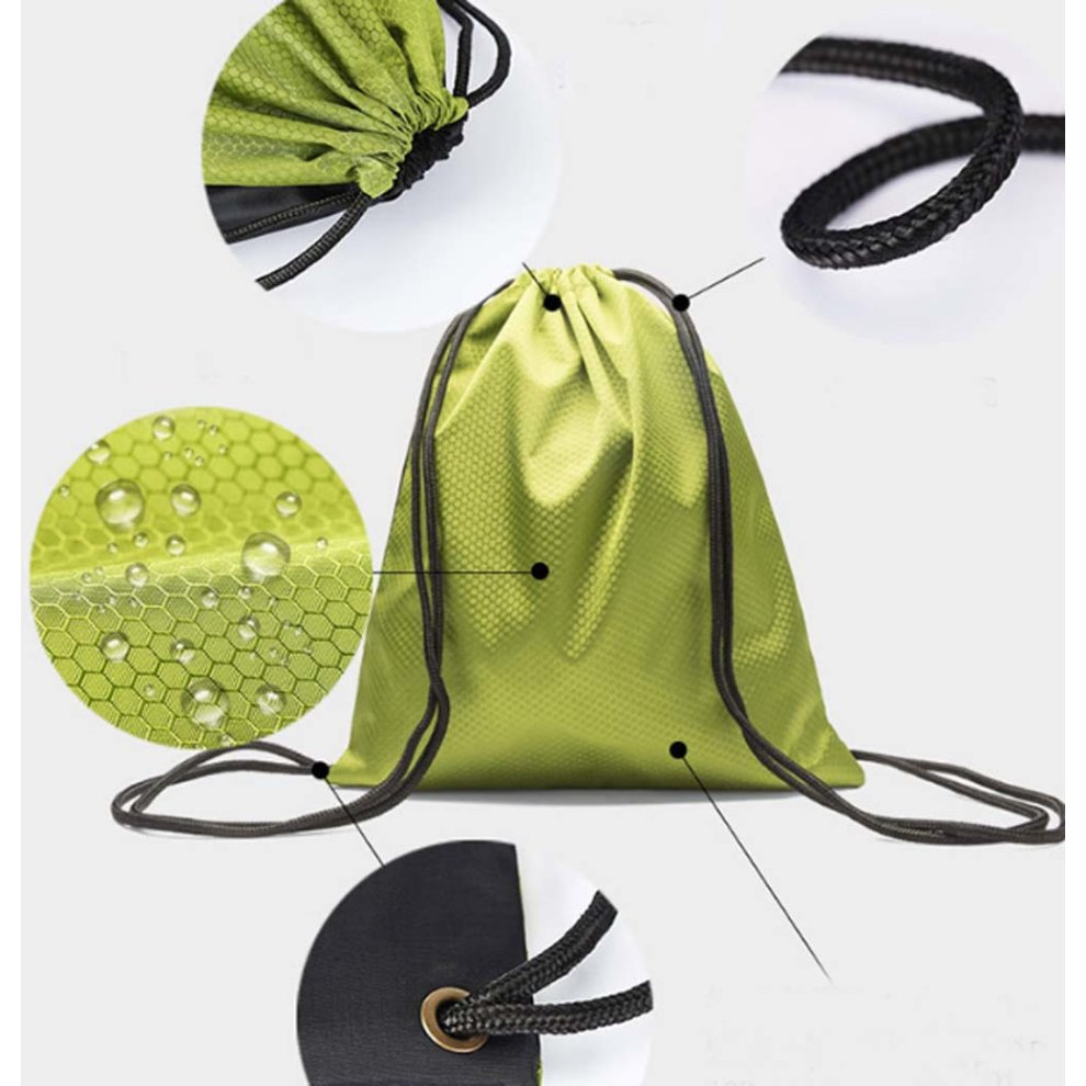 6e0ecf6576 ...  Red  Waterproof Backpacks String Bags Sports Drawstring Backpacks for  Outdoor - 1.