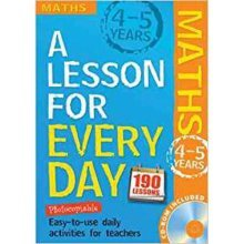 A Lesson for Every Day: Maths    (Ages 4-5)