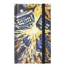 Doctor Who Official Exploding TARDIS Mini Journal