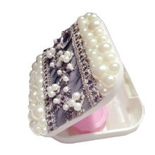 [Lace Beads] Special DIY Contact Lenses Box Case/Holders Storage Container