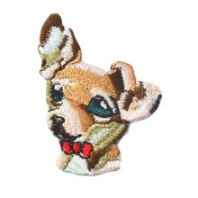 2 Pcs-Animal Patches Applique Patches Embroidery Applique Iron on Appliques-Dog