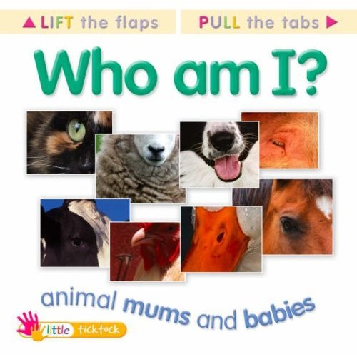 Lt Mf Animal Mums And Babies (Who Am I Mini)