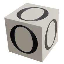 Wooden Block - Letter O