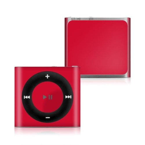 DecalGirl IPS4-SS-RED Apple iPod Shuffle 4G Skin - Solid State Red