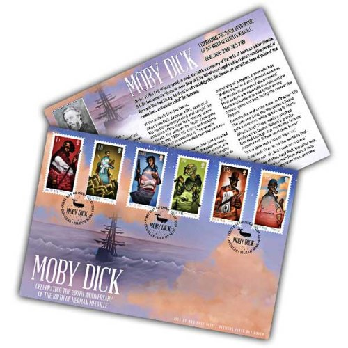 Isle of Man 2019 Stamps Moby Dick First Day Cover