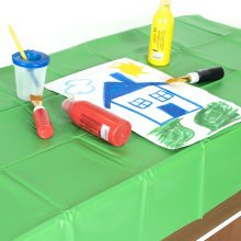 Childrens Messy Play Pack - Apron, Table/Floor Cover & Paint Pots included!