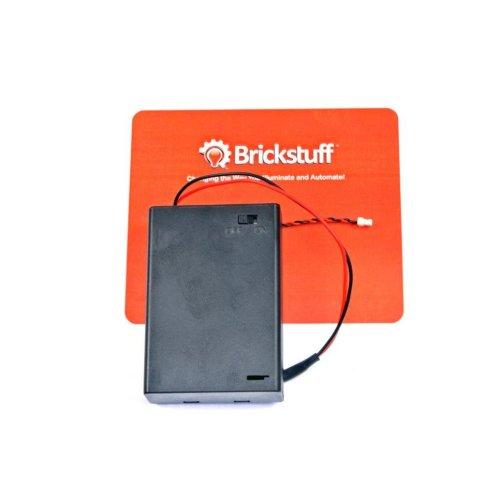 Brickstuff 3xAA Battery Pack for the Brickstuff LEGO Lighting System - SEED01